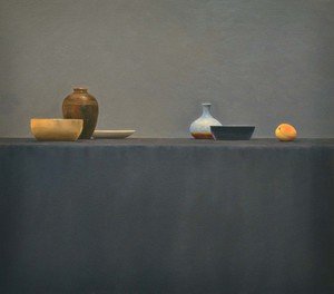 Still Life with Apricot 31''x35''