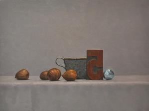 "Still Life with Chestnuts    12"" x  16"""
