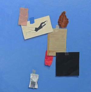 Still Life with Black Square  20''x20''