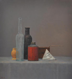 "Still Life with Shell  28"" x  30''"