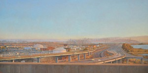 "View from the Freeway   27""x54"""