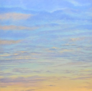 Banded Sky  54''x54''