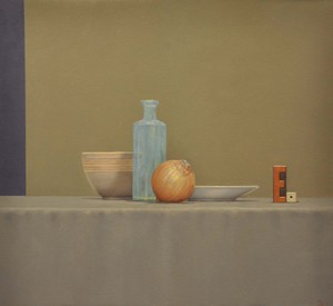 Still Life with Onion 23''x25''