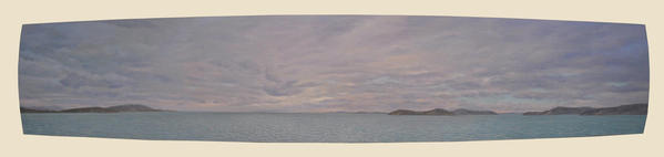 "Going to Orcas Island    19"" x  93"""