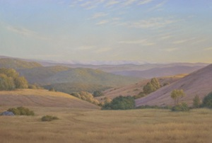 View from the Fire Road  41''x60''